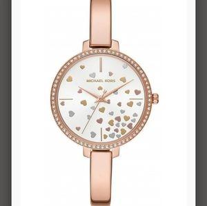 Michael Kors Jaryn Rose Gold Scatter Watch